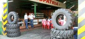 El Fonfip financió neumáticos a productores larenses