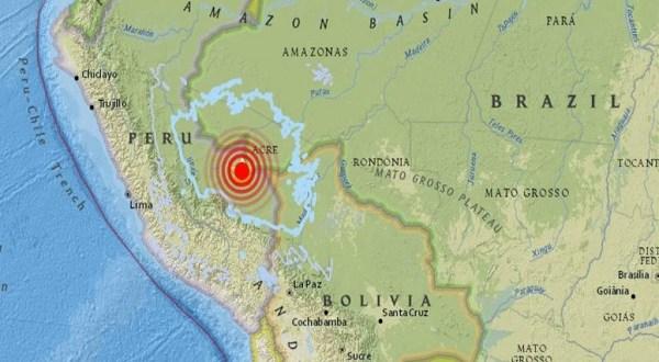 Sismo de 5,5 sacude zona central de Perú