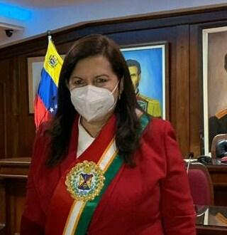 DESDE AHORA MADRINA DE LARA / Carmen Meléndez nueva ministra del Interior, Justicia y Paz