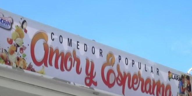 OBRA SOCIAL EN MORÁN | Instalado con nueva infraestructura Comedor Popular «Amor y Esperanza»