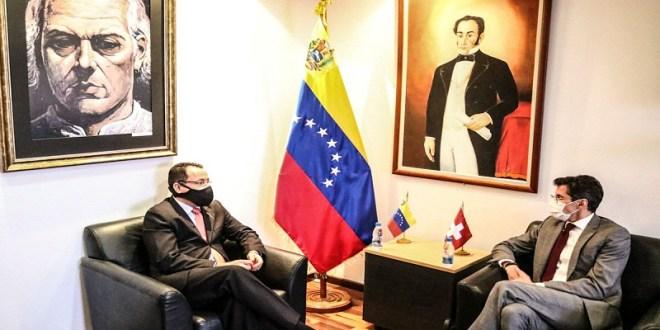 Venezuela y Suiza fortalecen relaciones diplomáticas en materia multilateral