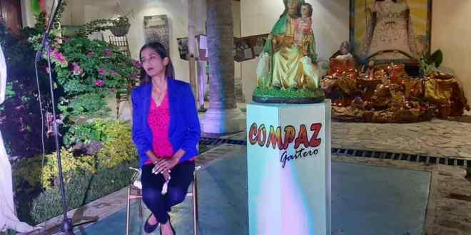 """EN SINTONÍA CON LA FE / Gabriela Quintero: """"La Divina Pastora es amor, fe y esperanza"""""""