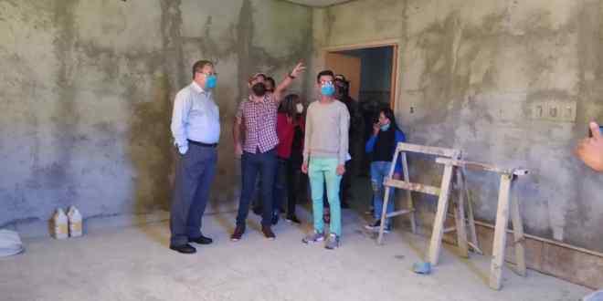 CONTINÚAN LOS TRABAJOS EN CENTROS ASISTENCIALES/ Mujeres del municipo Jiménez pronto contarán con una sala de parto totalmente rehabilitada