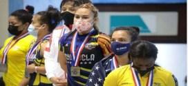 Yusleidy Figueroa se alzó con 2 medallas de oro en Campeonato Panamericano de Mayores en República Dominicana