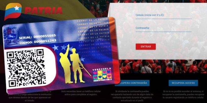 #16Abril / Inicia la entrega del Bono «Cuidado y Prevención» a través del Carnet de la Patria (+DETALLES)