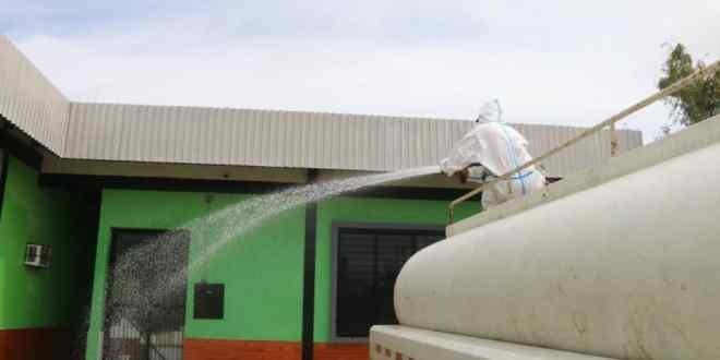 CDI Dr. Benito González Artigas recibió la jornada de Desinfección, Limpieza y Embellecimiento número 56