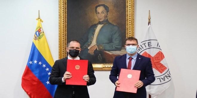 Venezuela y Cruz Roja firman convenio para reunificar a niños y adolescentes con sus familias en el exterior
