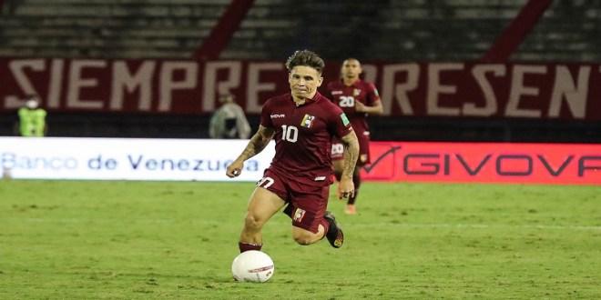 RECUPERADO / Yeferson Soteldo se suma a la Vinotinto para disputar la Copa América