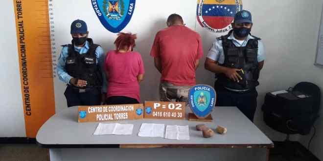En el municipio Torres dos sujetos fueron capturados por vender cupos para el proceso de cedulación