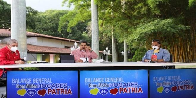 Presidente Maduro: Gran Misión Hogares de la Patria es el centro del bienestar social de la Revolución Bolivariana