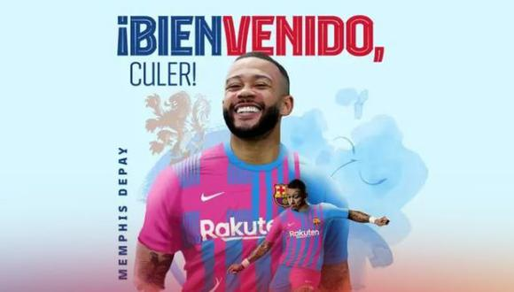 NUEVO FICHAJE DEL BARCELONA / Memphis Depay nuevo jugador culé