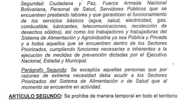 PROHIBIDO EL TRÁNSITO DESPUÉS DE LA 1:00 PM  / Se aplica decreto Nº139 durante cuarentena estricta y radicalizada (+DECRETO)