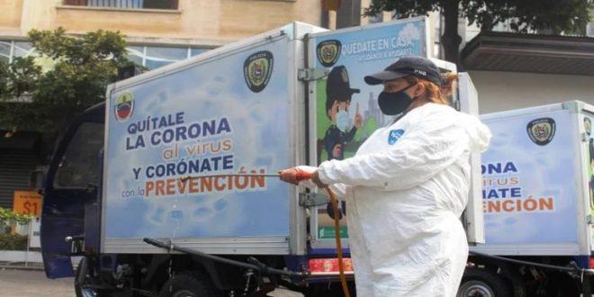 PNB realiza más de 2 mil jornadas de desinfección en el territorio nacional