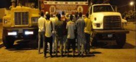 GNB detienen a 10 ciudadanos por comercialización ilícita de 22 mil kilos de chatarra en Monagas