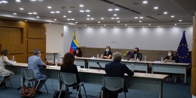 CNE constató garantías del sistema electoral del país con Misión Exploratoria de la Unión Europea
