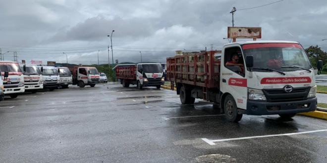 Nuevo despliegue de Plan Cayapa de Gas entrega cilindros en la parroquia José Gregorio Bastidas