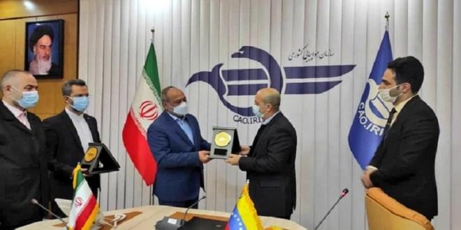 Venezuela e Irán fortalecen relaciones bilaterales en materia aeronáutica
