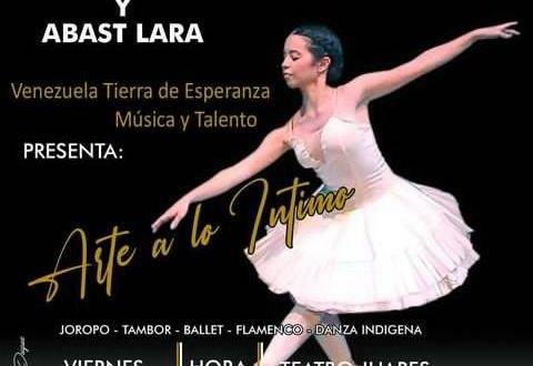 """HOY EN EL TEATRO JUARES / En conjunto con Abast Lara se presenta el espectáculo de baile """"Arte a lo íntimo"""""""