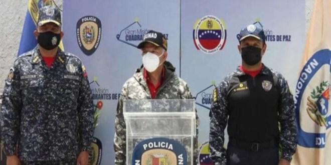 Desmantelan laboratorio artesanal de drogas en la Cota 905