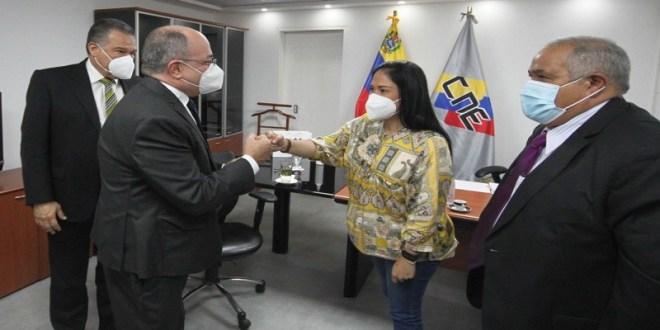 CNE prestará apoyo técnico a AD para la realización de primarias en Táchira