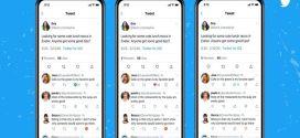 Twitter agrega botones para aplicar votos positivos o negativos en los comentarios