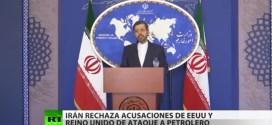 Irán advierte que responderá «inmediata y enérgicamente» a cualquier provocación tras el ataque contra un petrolero cerca de Omán
