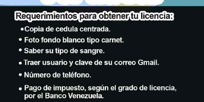 """EN SANARE DEL 18 AL 27 DE AGOSTO / Se realiza el operativo """"Licencia por 1ª.  vez"""""""