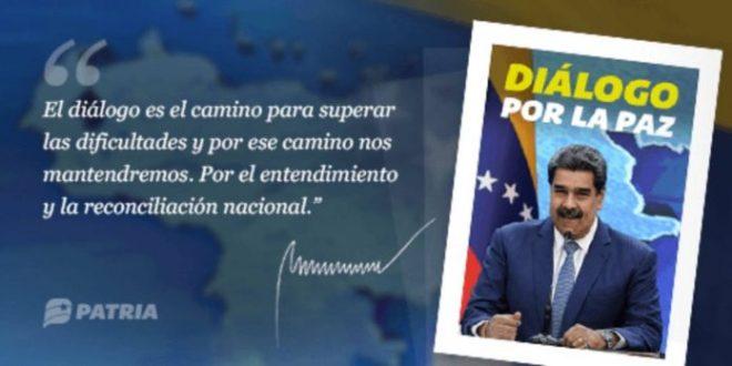 "Inició la entrega del bono ""Diálogo por la Paz"" a través de la Plataforma Patria"