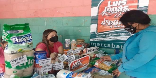 Abastecen a más de 2.500 familias en Barquisimeto con productos de la cesta básica