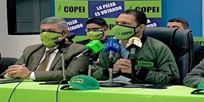 Copei reconoce su participación en el cronograma electoral y en auditorias con miras al 21Nov