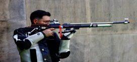 Julio Lemma culminó en la posición 39 en Rifle de Aire 50m en los JJOO