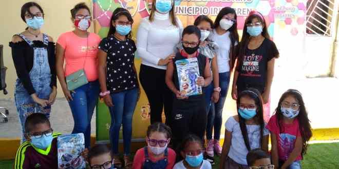 CON EL PLAN LUCERO PARA MIS OJOS/ La Fundación Municipal del Niño entregó lentes correctivos a niños y niñas de Iribarren