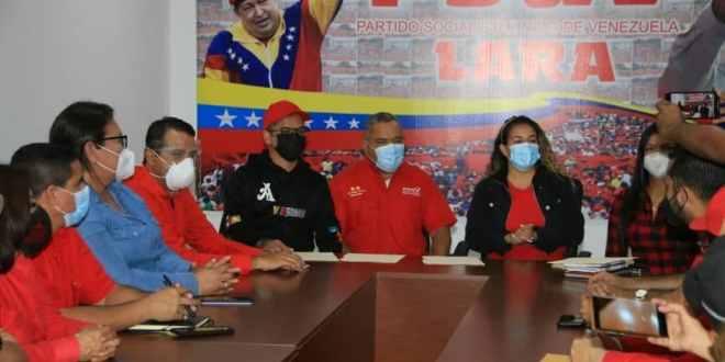 Candidatos y candidatas de Lara oficializan su inscripción en el CNE