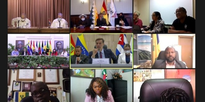 Venezuela propone al ALBA-TCP establecer cooperación con China, ASEAN y la Liga Árabe