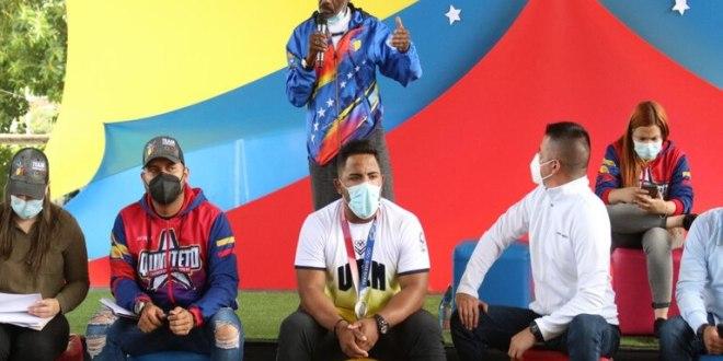 Maldonado inició en Caracas Consulta Nacional hacia ruta olímpica