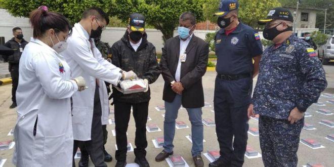 Cicpc y Cpnb decomisan mas de 480 kilos de cocaína en Anzoátegui y Táchira