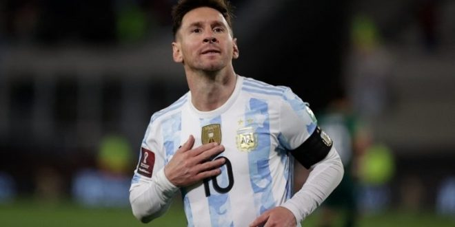 Messi supera histórica marca de Pelé
