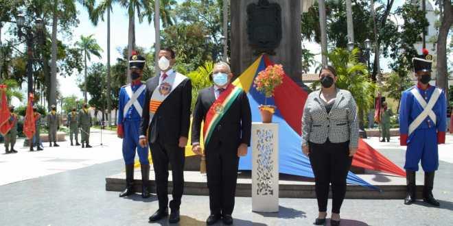 Gobernador Adolfo Pereira celebró los 469 años de Barquisimeto junto al Poder Popular