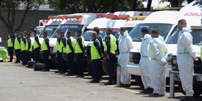 Centro de Comando y Control Integrado de Ambulancias del estado Lara arribó a sus 110.119 traslados