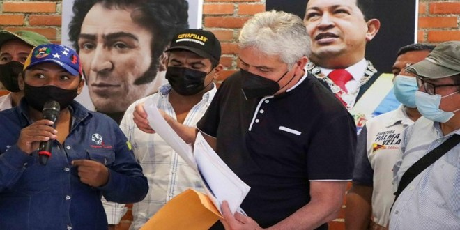 Movimiento de Campesinos exige ante la Mesa de Diálogo en México el levantamiento del bloqueo y devolución de Monómeros a Venezuela