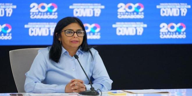 Vicepresidenta Delcy Rodríguez ante declaraciones de Duque sobre diálogo en México: Él sueña con desestabilizar a Venezuela