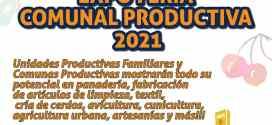 Este sábado #18sep será la Expo Feria Comunal Productiva 2021 en Iribarren