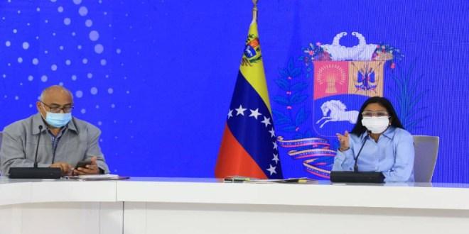 Venezuela y OMS evaluaron avance de las políticas contra la COVID-19 en el país