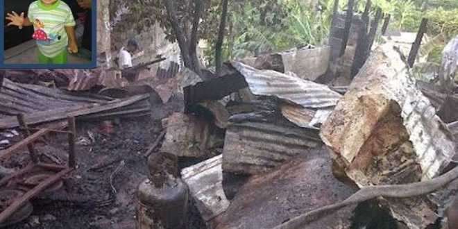 En Aragua: Murió un bebé al incendiarse una casa