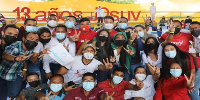 Presidente Maduro en 13° aniversario del JPSUV: Ustedes son Patria joven y socialista del Siglo XXI