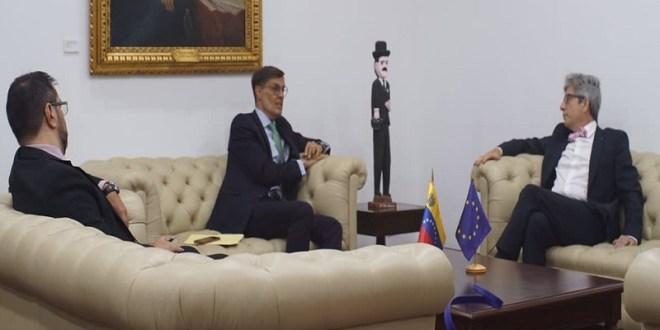 Venezuela y UE coinciden en avanzar para relaciones sustentadas en cooperación mutua y respeto al Derecho Internacional