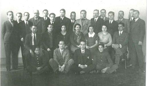 Empleados de Siemens Electromédica en 1933