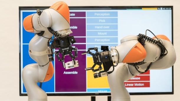 robot sin programación siemens