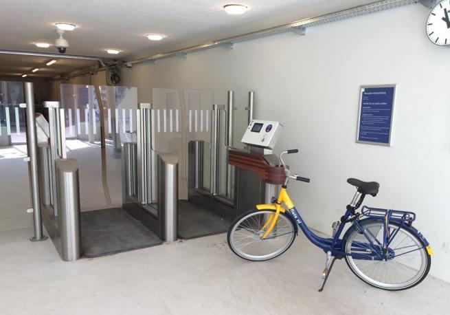 aparcar bici en las estaciones Siemens