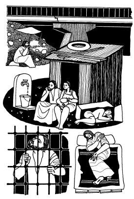 Evangelio según san Mateo (25,31-46, del domingo, 23 de noviembre de 2014
